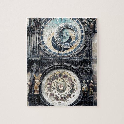 Praga Orloj Rompecabezas