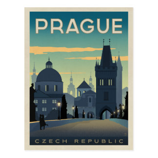 Praga, República Checa Postales