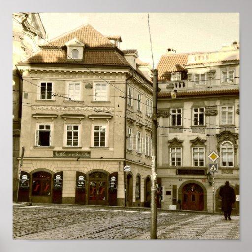 Praga, República Checa Póster