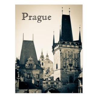 Praga, República Checa Tarjeta Postal