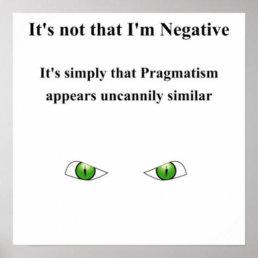 Pragmatism Poster