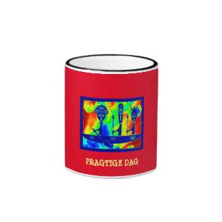 """PRAGTIGE DAG"" 11 oz. RINGER AFRICAN COFFEE MUG"