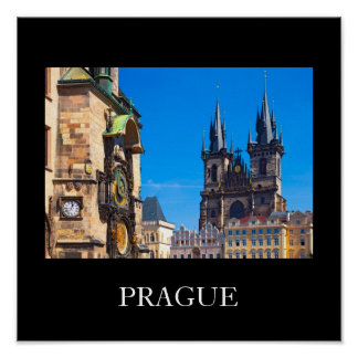 Prague 001W Poster