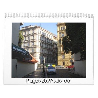 Prague 2009 Calendar