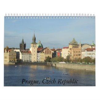 Prague 2012 Calendar calendar