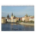 Prague 2013 Travel Calendar