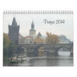 Prague 2014 Travel Calendar