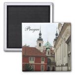 Prague Architecture Fridge Magnet