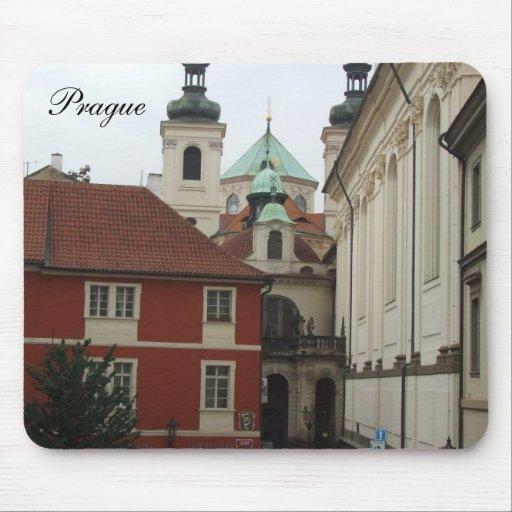 Prague Architecture Mouse Pad