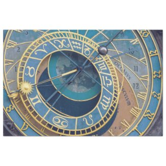 Prague Astrological Clock Decoupage Sheet