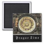 Prague Astronomical Clock 2 Inch Square Magnet