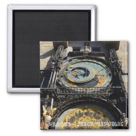 Prague, Astronomical Clock (Fridge Magnet)