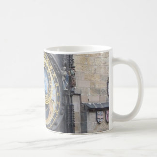 Prague Astronomical Clock In The Old Town Square Coffee Mug