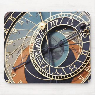 prague astronomical clock Mousepad