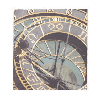 Prague Astronomical Clock Notepad