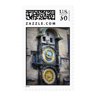 Prague Astronomical Clock Postage