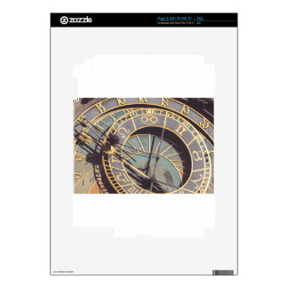 Prague Astronomical Clock Skin For iPad 2