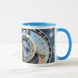 Prague Astronomical Clock-Time & Space Mug