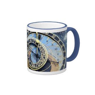 Prague Astronomical Clock-Time & Space Mugs
