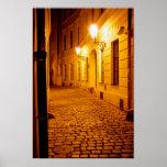 Prague by Lamplight Poster
