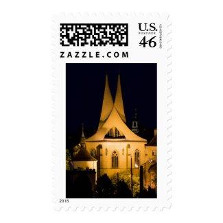 Prague by Night stamp