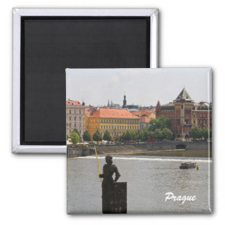 Prague by the Moldava Magnet