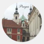 Prague Cards Classic Round Sticker