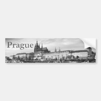 Prague Castle Bumper Sticker