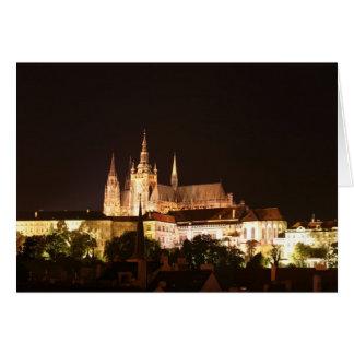 Prague Castle Card