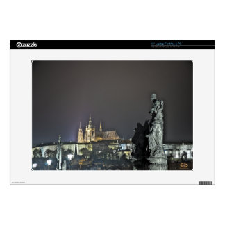 "Prague Castle Charles Bridge Night Skin For 15"" Laptop"