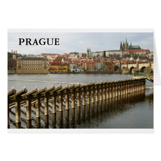 Prague – Castle II Greeting Cards