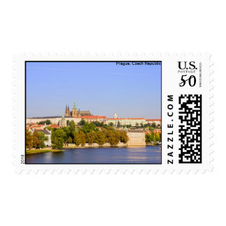 Prague Castle Postage