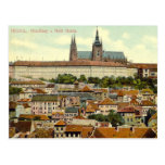 Prague Castle Postcard