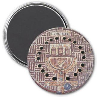 Prague Castle Sewer Cover Magnet