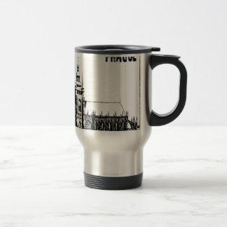 Prague castle travel mug