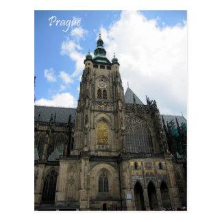 Prague Cathedral Postcards