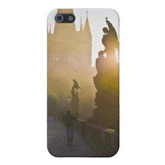 Prague Charles Bridge Morning Fog Case For iPhone SE/5/5s