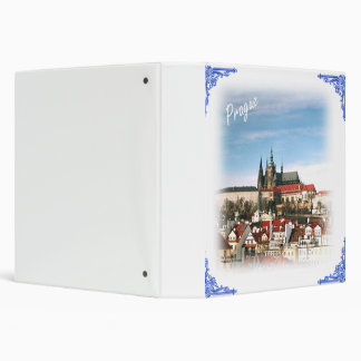 Prague city and castle binder