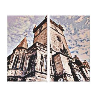 Prague City Hall Canvas Prints