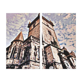 Prague City Hall Canvas Print