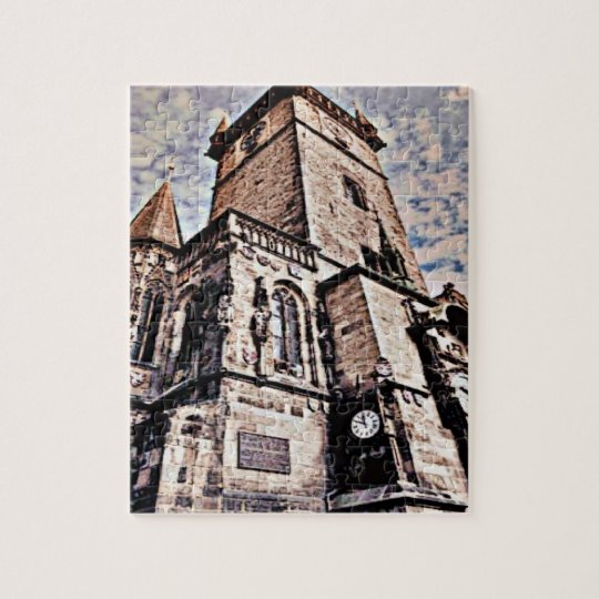 Prague City Hall Jigsaw Puzzle