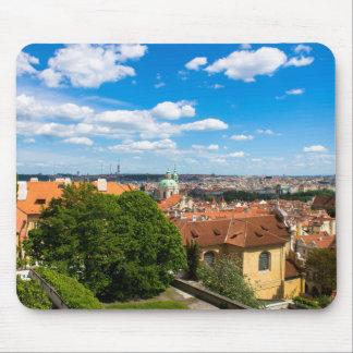 Prague Cityscape Mouse Pad