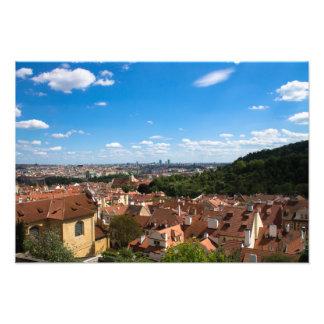 Prague Cityscape Photo Print