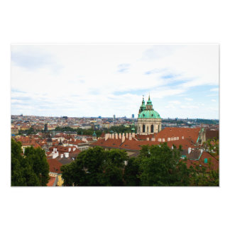 Prague cityscape photo