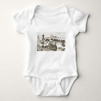 Prague, Czech Republic Baby Bodysuit