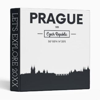 Prague, Czech Republic Binder