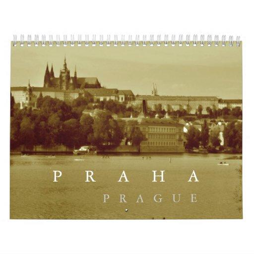 Prague, Czech Republic Calendar