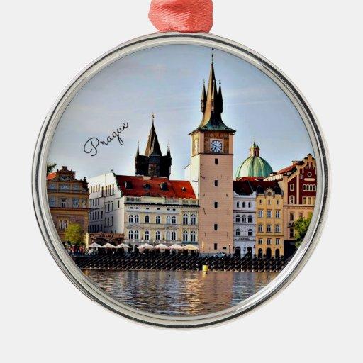 Prague, Czech Republic,  cityscape Ornament