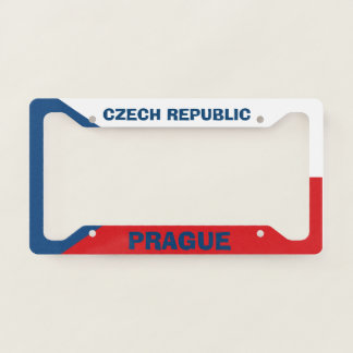 Prague Czech Republic License Plate Frame