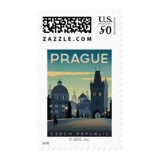 Prague, Czech Republic Postage